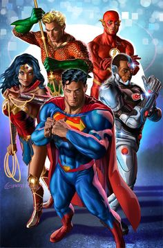 Justice League by Greg Horn