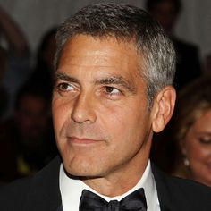 Pictures of Men's Celebrity Haircuts: George Clooney: A Men's Hairstyle Icon