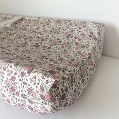 ROSE Crib Bedding ORGANIC Girls Fitted Crib Sheets / by Babiease