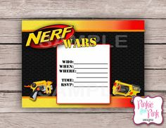 Nerf Party Invitations In Support Of Invitations Your Party Invitation  Templates With Bewitching Ornaments 9