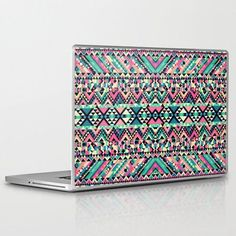 cute hp computers | Aztec Andes Tribal Pattern Laptop Case. It'd be so cute on my future ...