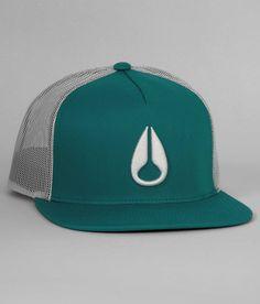 Nixon Deep Down Trucker Hat - Men s Hats in Seafoam  c921ffb08e