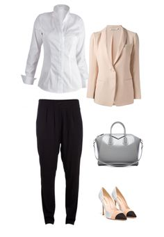 """Outfit, byMi Blouse """"Bellinzona white"""""""