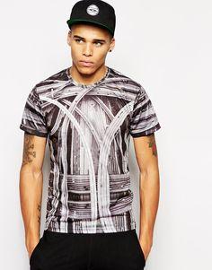 Imagen 1 de Camiseta con estampado de carreteras de Iuter