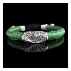 Wimbi Silver with Tsavorite Bracelets, Silver, Jewelry, Jewlery, Jewerly, Schmuck, Jewels, Jewelery, Bracelet