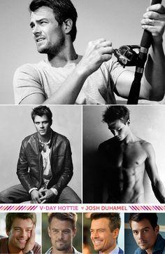Valentine's Hottie: Josh Duhamel. #hottie #joshduhamel