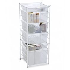 Cabinet-Sized elfa Mesh Drawers   The Container Store