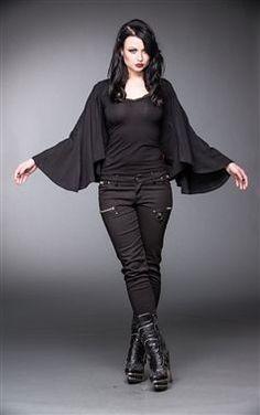 Queen Of Darkness Gothic Batwing Bolero