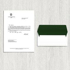Lettera di ringraziamento dal Consolato Generale d'Italia a Parigi