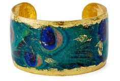 One Kings Lane - By Land & by Sea - Peacock Cuff
