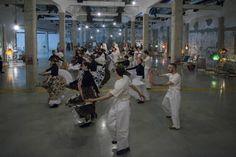Un'ex fabbrica anni '20 trasformata in una sala da ballo #Fuorisalone2016 #Design