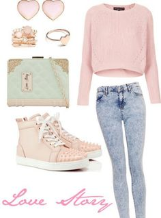 I like everything except the shoes and jeans!