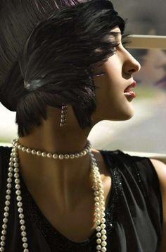 a0316a444e36 Vuelve a la moda el estilo años 20  fotos de los looks - Collar de