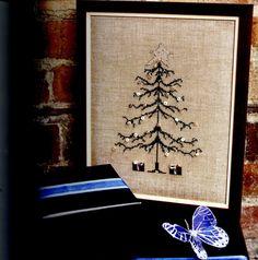 Beaded Christmas Tree (Pg 1 of Cross Stitch Tree, Cross Stitch Kits, Cross Stitch Designs, Cross Stitch Patterns, Christmas Sewing, Christmas Embroidery, Christmas Cross, Christmas Tree, Cross Stitching