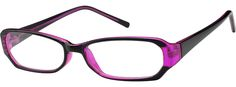Order online, women's purple full rim acetate/plastic rectangle eyeglass frames model #338537. Visit Zenni Optical today to browse our collection of glasses and sunglasses.