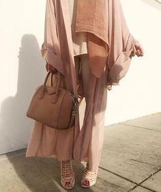 6 shades of blush   Abaya