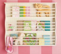 nursery book rack