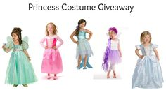 $30 Princess Costume Giveaway - Get a free halloween costume for your little girl.  #princesscostumes #halloweencostumes #girls #giveaway