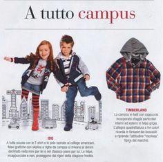 A tutta scuola con le t-shirt e le polo iDO ispirate ai college americani. La nuova collezione iDO raccontata da Fashion