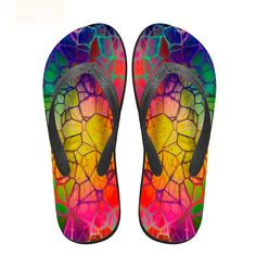 Forudesigns Women Casual Flip Flops 3d Fruit Puzzle Prints Summer Shoes Flats Sandals Woman Non-slip Home Slippers For Female Factories And Mines Women's Shoes Flip Flops