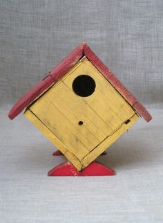 54 Best Ideas for wooden bird houses folk art Wooden Bird Houses, Bird Design, Wild Birds, Bird Cage, Blue Bird, Bird Feeders, Folk Art, Paper Crafts, Infatuation