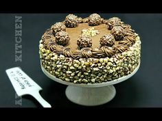 Tort Ferrero Rocher cu ciocolata si alune | Adygio Kitchen - YouTube