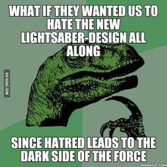 Diabolical Sith conspiracy