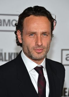 Andrew Lincoln - Rick!  Gorgeous man ❤ with a British accent and everything.
