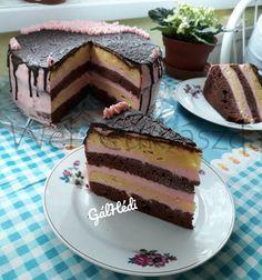 Creative Cakes, Tiramisu, Cake Recipes, Cheesecake, Pudding, Ethnic Recipes, Food, Hedvig, Cukor