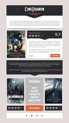 The #1 HTML email gallery showcase on the web. Browse by category and type. Submit your own.