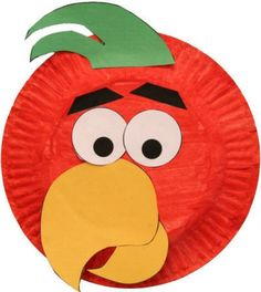 Paper Plate Parrot Craft pertaining to Craft Work With Paper Plates Paper Plate Crafts For Kids throu Kids Crafts, Paper Plate Crafts For Kids, Daycare Crafts, Preschool Crafts, Projects For Kids, Arts And Crafts, Paper Crafts, Family Crafts, Paper Plate Art
