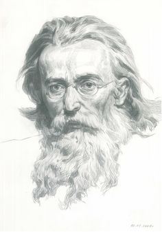 Portrait of an artist.  (Portait from the painting of Polish artist Jan Matejko)., Victoria Radionova