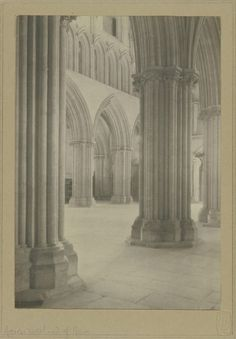 """Wells Cathedral, Across the West End of Nave"" (1890-1903)"