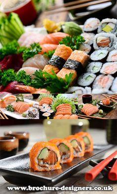 sushi stock images ideal for sushi menus www.brochure-designers.co.uk #sushi #sushimenu #menudesign