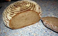 Chléb pšenično-žitný kváskový Food And Drink, Healthy Eating, Bread, Baking, Recipes, Eating Healthy, Healthy Nutrition, Clean Foods, Brot