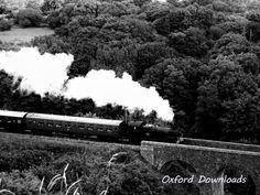 Corfe Steam Train Train Print Digital Download by OxfordDownloads