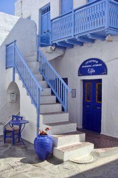 Travel Inspiration for Greece - Blue and white - Milos island, Greece