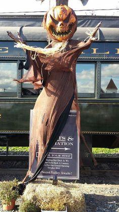 Halloween weekend : Haunted Colebrookdale Railroad Trains.
