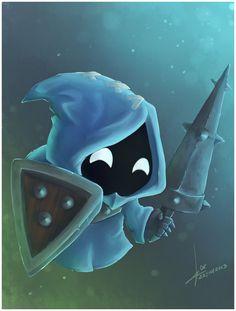 Blue minion :3