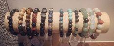 Gemstone bracelets for men Gemstone Bracelets, Bracelets For Men, Gemstone Jewelry, Gemstones, Handmade, Hand Made, Men's Wristbands, Gems, Jewels