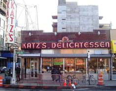 "Katz's Delicatessen | ""Located in the Lower East Side, Katz's has changed little since it was first opened by Russian immmigrants in 1888. Although the deli has seen some notable changes (like moving across the street when the subway was being constructed), the famous pastrami sandwiches and hot dogs have stayed true to their original recipes (though you'll probably be in line a lot longer than back in the 19th century!). Still, the queue at 205 E Houston St. is definitely worth it."""