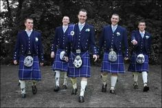 Wedding party dress in Satire Outfits supplied by the Kilt Centre in Hamilton, Scotland