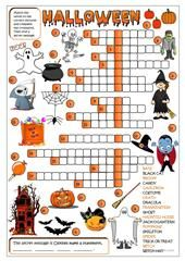 A 5 Minute Activity Halloween Edition worksheet - Free ESL printable worksheets made by teachers