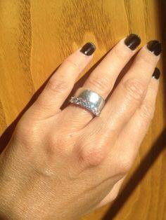 size 4.5 finger, 7mm band