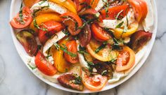 We love heirloom tomatoes here at Kendall-Jackson! This simple, summer Heirloom Tomato & Mozzarella Salad is one our favorites.