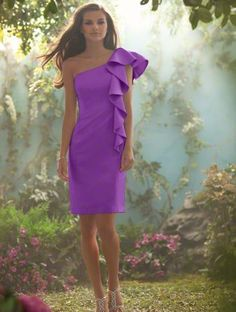 This will be the bridesmaid dress. I am having each girl wear a different shade of purple.