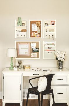 Stampin' Up! offers so many products you can use to freshen up your home office and make it more beautiful.