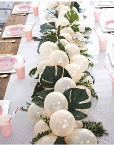 Greenery Baby Shower Centerpieces For A Gender Neutral Baby Shower VCDiy Decor . - Greenery Baby Shower Centerpieces For A Gender Neutral Baby Shower VCDiy Decor And More - Baby Shower Elegante, Elegant Baby Shower, Gender Neutral Baby Shower, Deco Baby Shower, Baby Shower Balloons, Floral Baby Shower, Baby Shower Green, Baby Shower Jungle, Baby Shower Venues