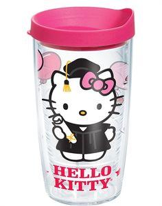 Hello Kitty® - Graduation Wrap with Lid - 16oz tumbler