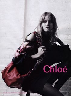 TBT | Chloes Hippie Chic Fall 2003 Ads with Angela Lindvall
